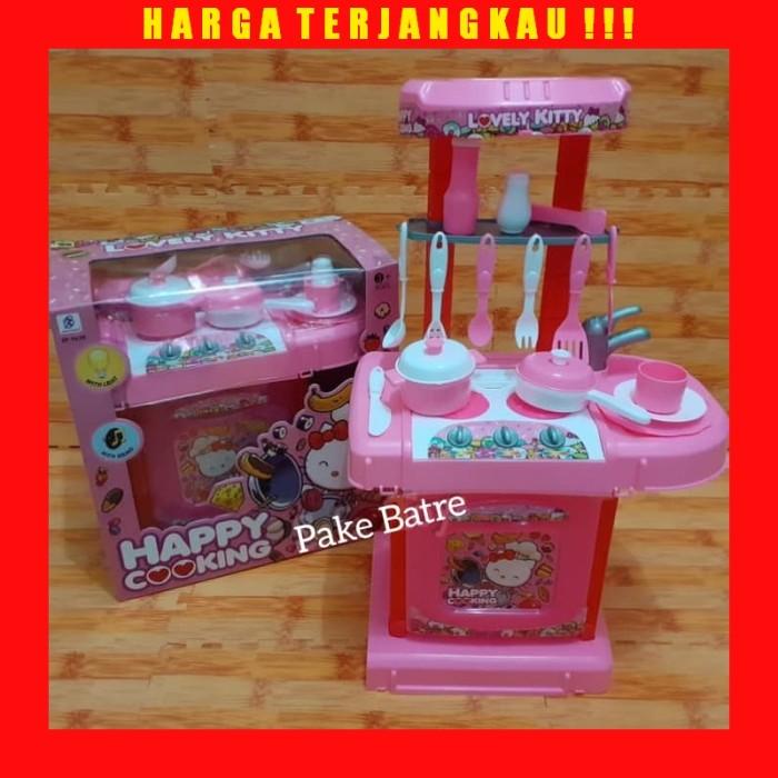 Jual Mainan Anak Perempuan Masak Masakan Happy Cooking Kitchen Set Kota Bekasi Mangdolan Tokopedia