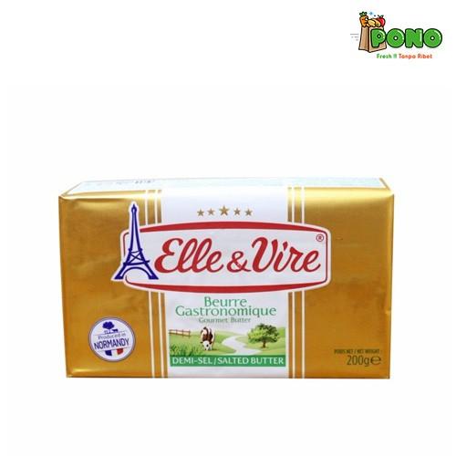 Foto Produk Elle & Vire Butter Salted 200gr dari Pono Area Solo