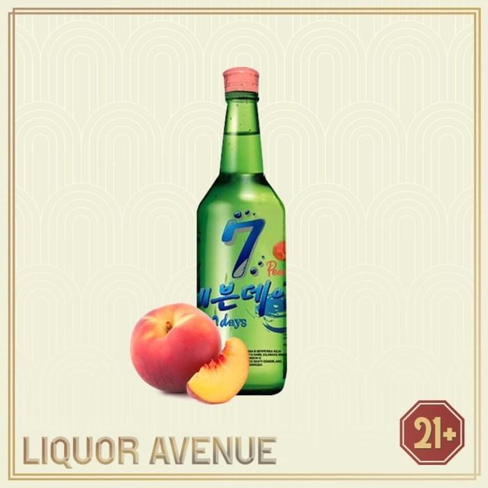 Foto Produk Sevendays (7Days) Peach Soju 360 ML dari Liquor_Avenue