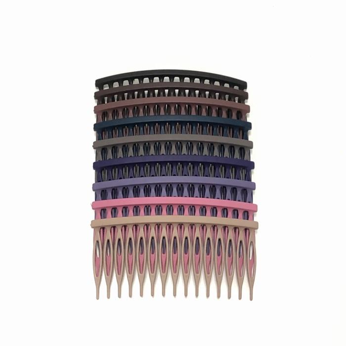 Foto Produk Squared Haircomb - Sirkam Polos Fashion KOREA ASLI Premium Matte Impor dari Lily's Accessories