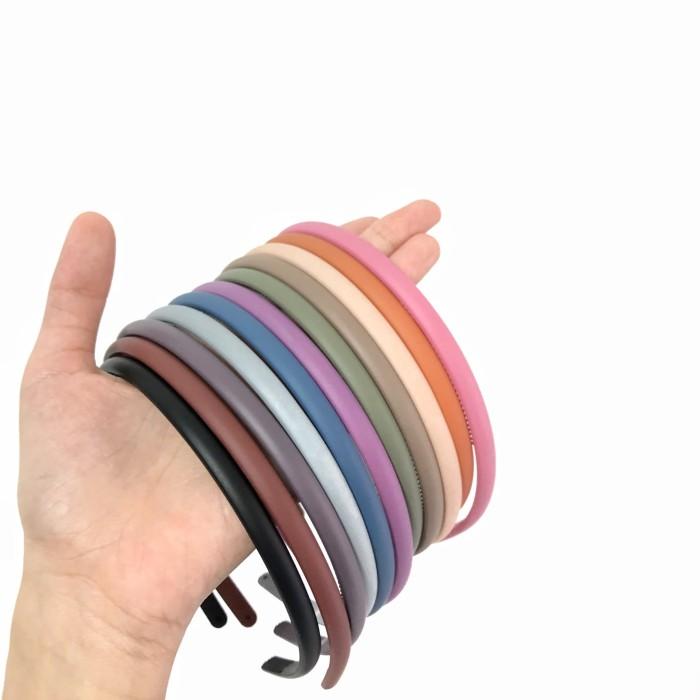 Foto Produk Bando Polos Matte Pastel Color (0.7cm) – Hairband Made in Korea dari Lily's Accessories