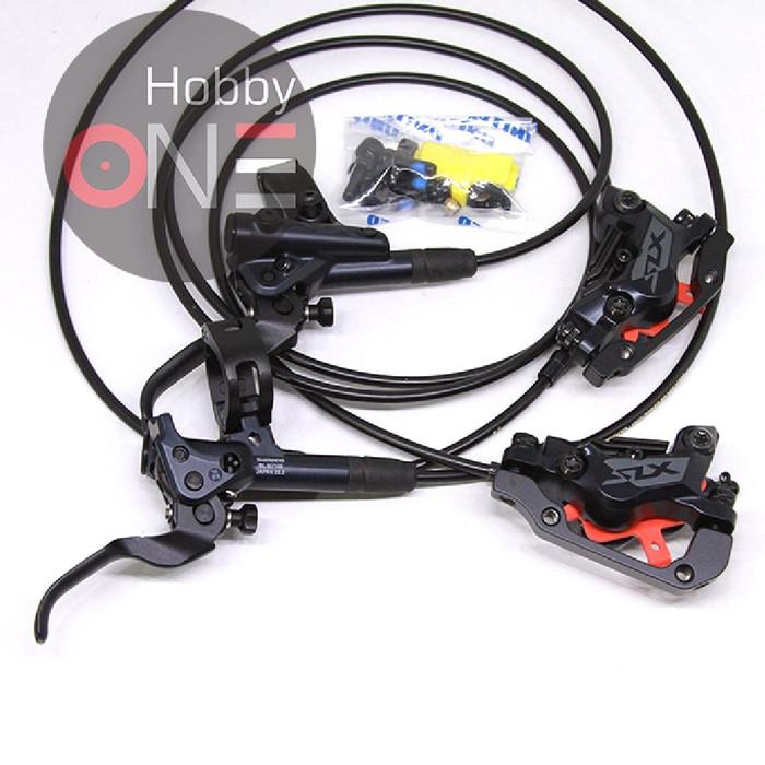 Foto Produk Shimano SLX BL-M7100 Hydraulic Brake Lever Caliper BR-M7120 4 Piston dari HobbyOne