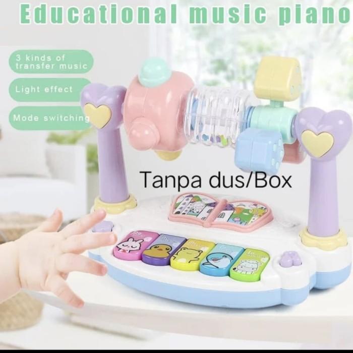 Foto Produk Mainan edukasi anak Rattle Piano music/educational piano music Lampu dari AUTO KID II