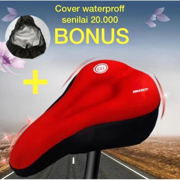Foto Produk sarung jok sepeda gel empuk, cover saddle, sadel sepeda, cover sepeda - TAFFSPORT GEL dari homeshop123