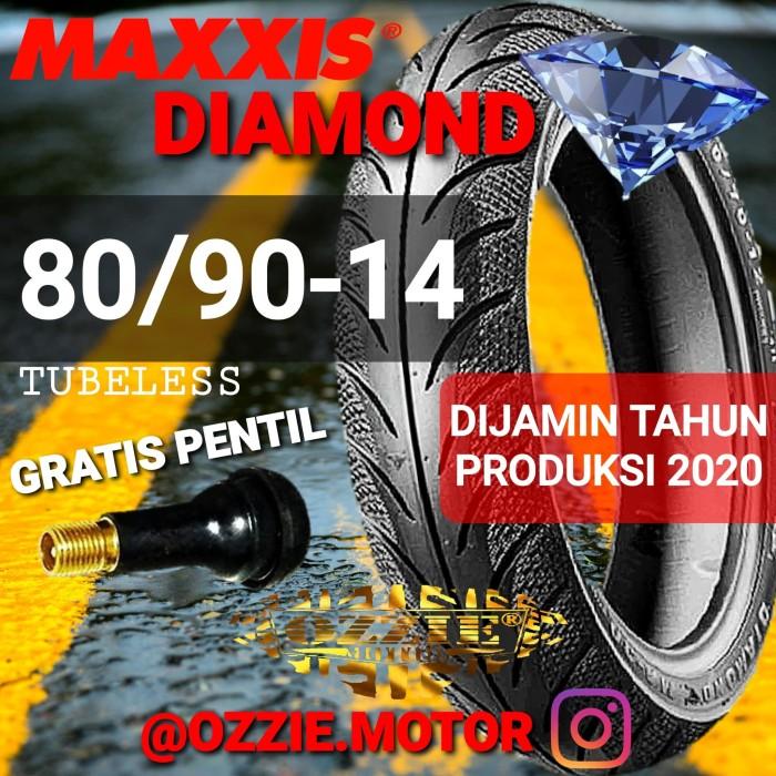 Jual MAXXIS MA-3DN Diamond 80 90-14 Ban Tubeless Matic