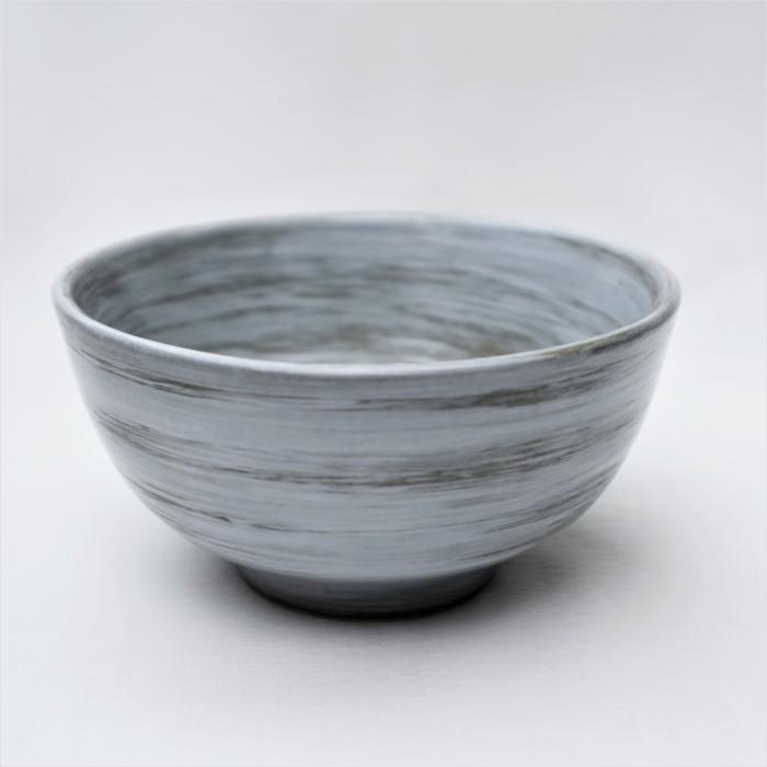 Foto Produk Artisan Ceramic   Alam Grey Rice Bowl S   Mangkok Nasi Keramik dari Artisan Ceramic