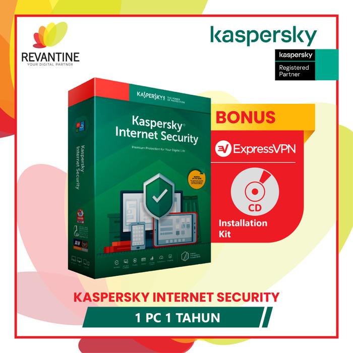 Foto Produk Antivirus Kaspersky Internet Security 1 PC 1 Tahun dari Revantine