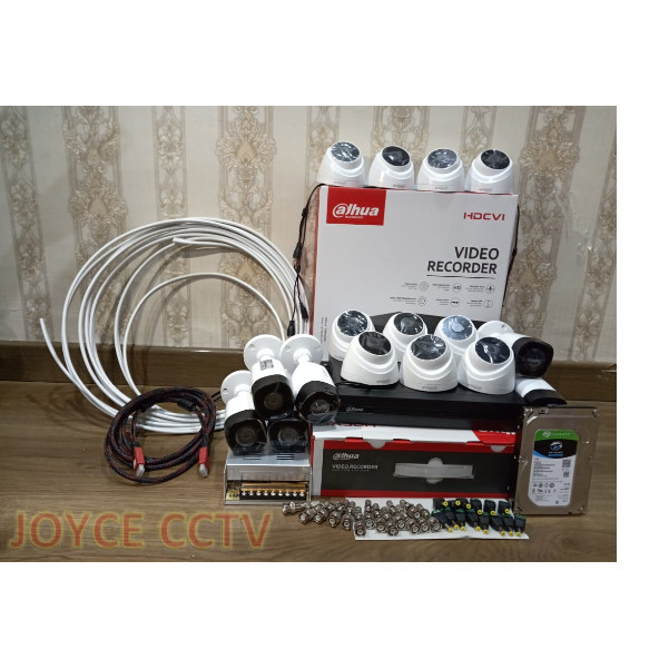 Foto Produk PAKET CCTV DAHUA 16 CHANNEL HD 2MP HDD 1TB dari JOYCE CCTV