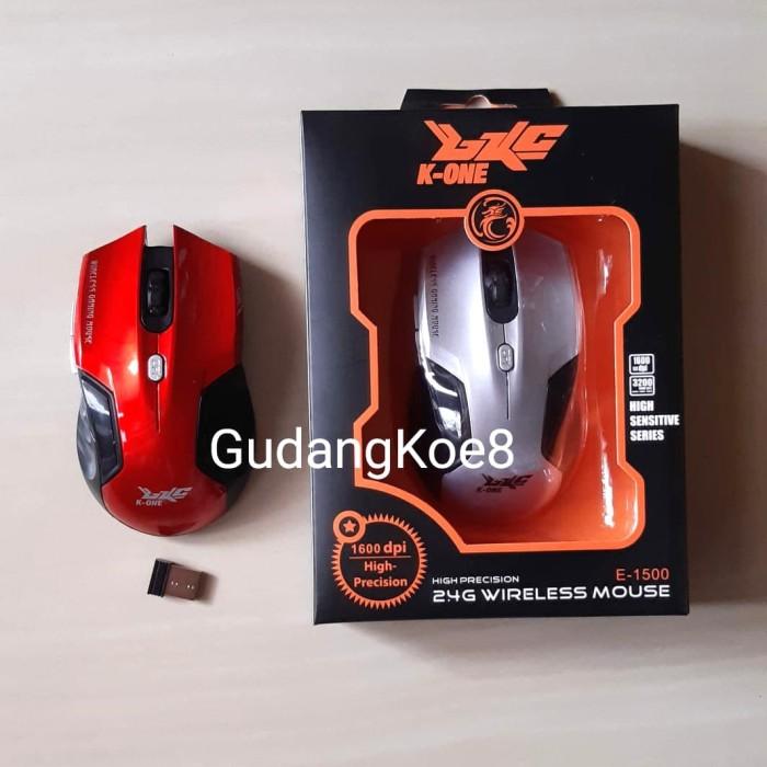 Foto Produk Mouse Wireless Gaming K-ONE 1600Dpi 2.4Ghz dari GudangKoe8