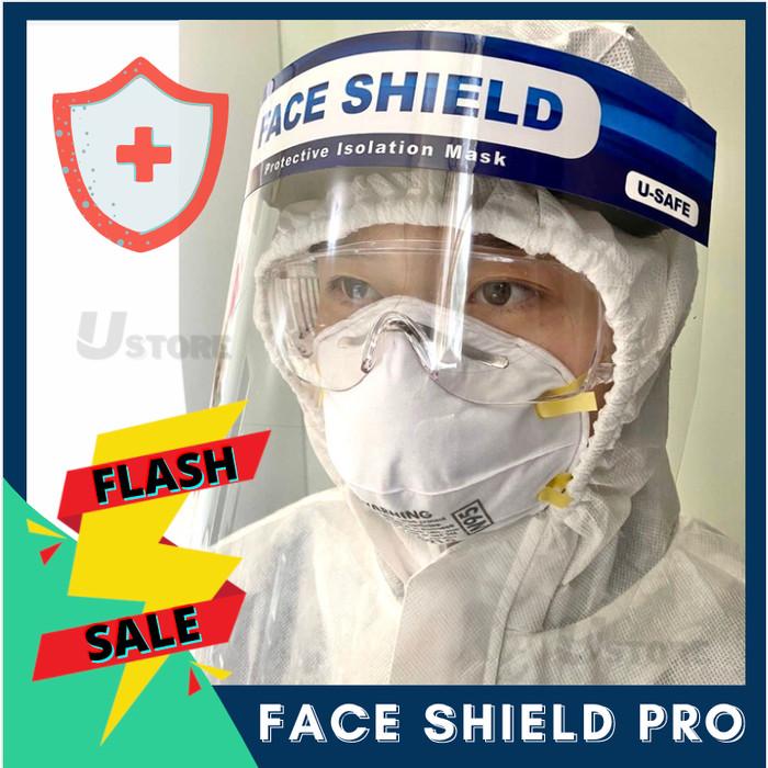 Foto Produk Face Shield Pelindung Wajah USAFE APD Anti Fog - Blue dari U-STORE Jakarta