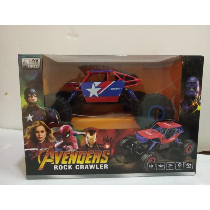 Jual Terbaik Baik Mainan Anak Mobil Remot Control Avengers Rock Climbing Jakarta Barat Dayita Shop Tokopedia