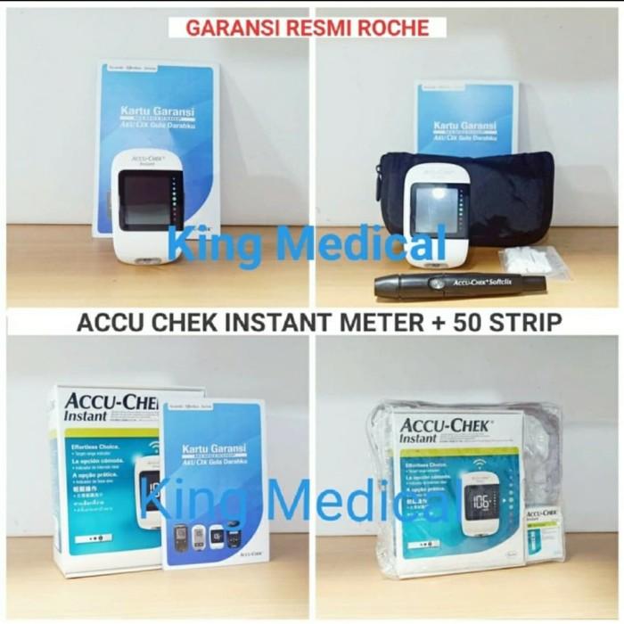 Foto Produk Accu Chek Instant + 25 Test Strip Alat Gula Darah Accu Check dari King Medical