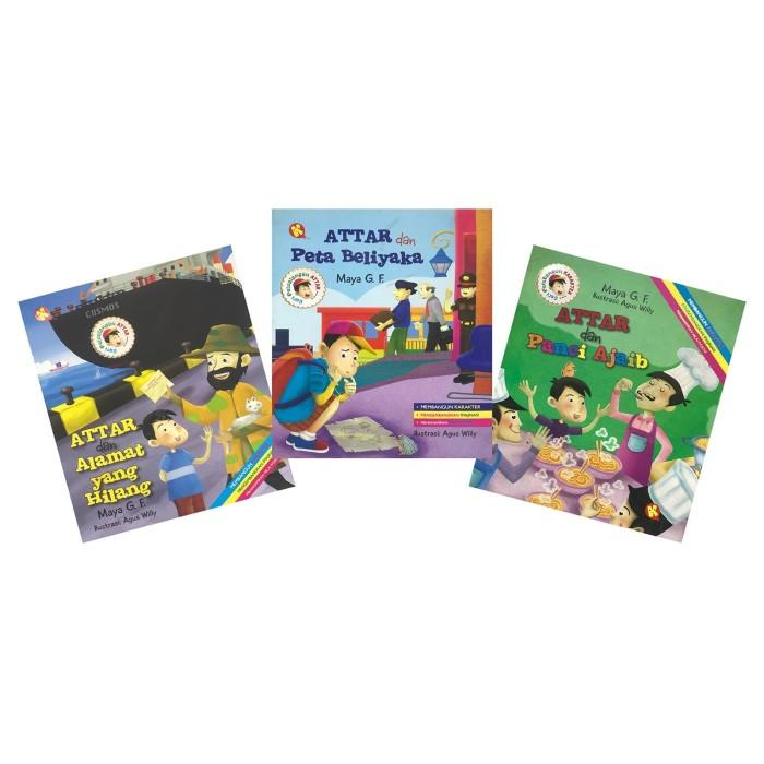 Foto Produk Paket Serial Cerita Anak Attar dari Pustaka Al-Kautsar