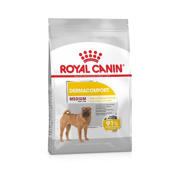 Foto Produk royal canin 3 kg dog medium dermacomfort dari F.J. Pet Shop
