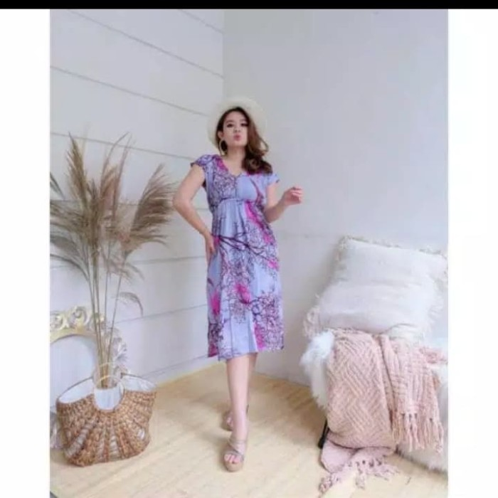 Foto Produk Dress Manohara Motif Akar Pilih warna dari Sunday's Shop