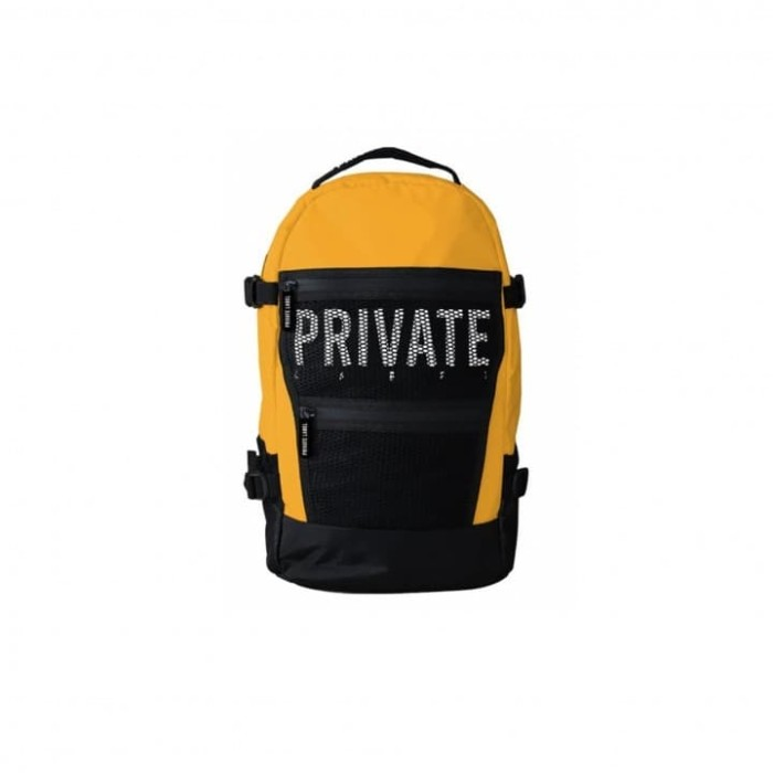 Foto Produk PRIVATE LABEL BACKPACK YELLOW BLACK dari KXStart!
