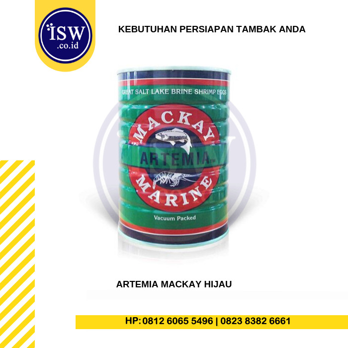 Foto Produk Artemia Mackay Hijau Pakan Benur Berkualitas dari PT. Indah Sari Windu