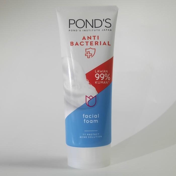 Jual Ponds Facial Foam Sabun Muka Pembersih Wajah Anti Bacterial 100 Gr Kota Tangerang Funireindonesia Tokopedia