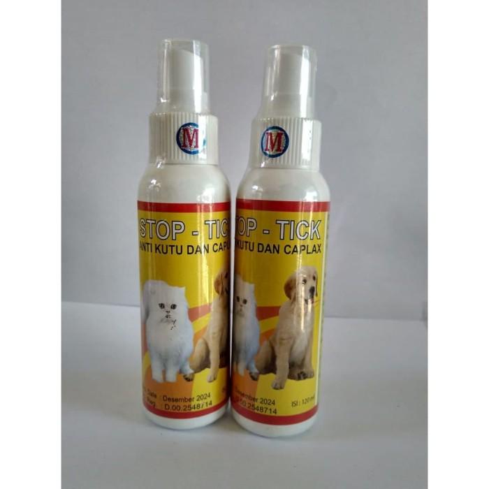 Jual Stop Tick Spray Obat Kutu Kucing Anjing Basmi Telur Kutu Kab Kendal Omarpoultryshop Tokopedia