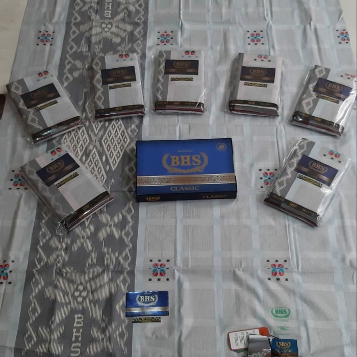 Foto Produk SARUNG SERAGAM BHS CLASSIC SKT DAM GOLD dari Aqila Sarung grosir