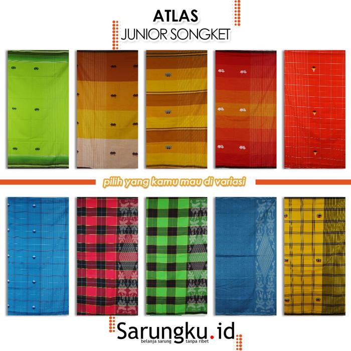Foto Produk SARUNG ATLAS JUNIOR SONGKET - Cover dari SarungkuID