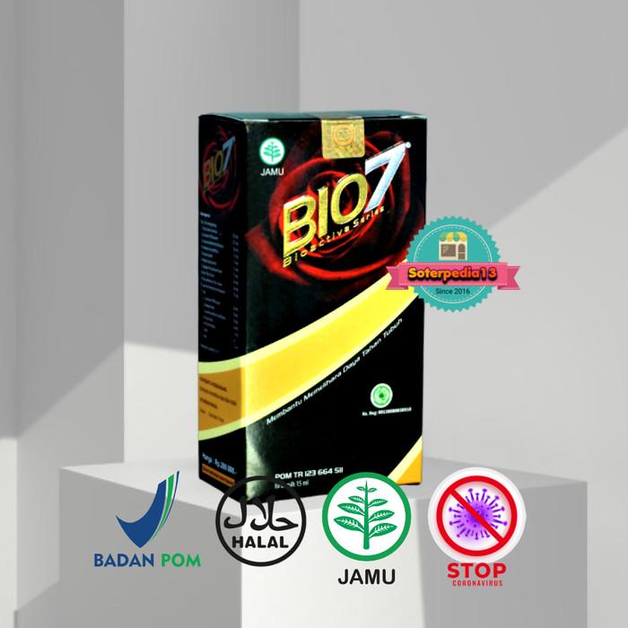 Foto Produk Bio7 / Bio 7 / BIOSEVEN Jamu Tetes 100% Original (FREEGIFT MIDIX) dari soterpedia13