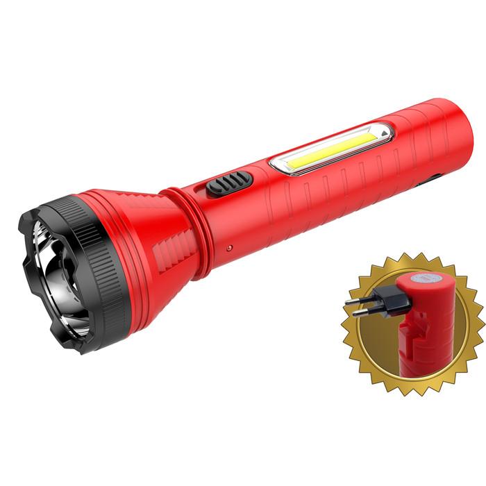 Foto Produk SENTER TANGAN LED 10W+COB AOKI AK 1806 - Merah dari Aoki Official Store