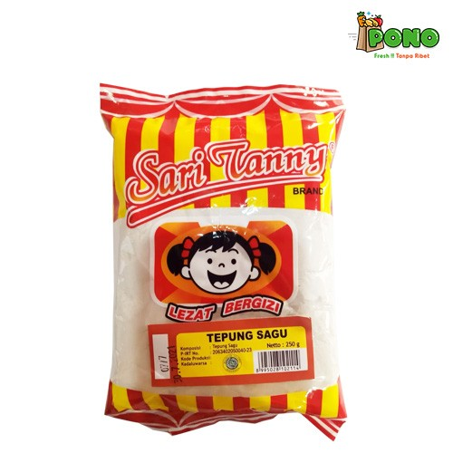 Foto Produk Tepung Sagu Sari Tanny 250gr dari Pono Area Solo