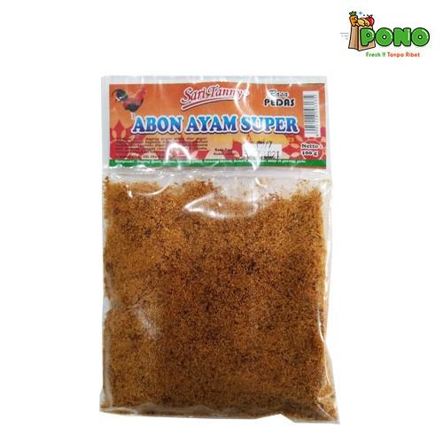 Foto Produk Abon Ayam Pedas Sari Tanny 100gr dari Pono Area Solo