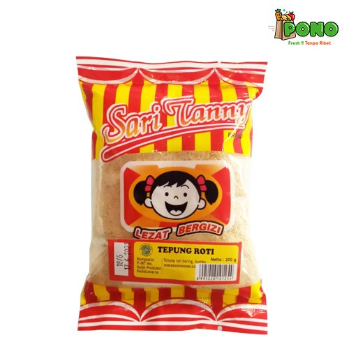 Foto Produk Tepung Roti/Panir Sari Tanny 200gr dari Pono Area Solo