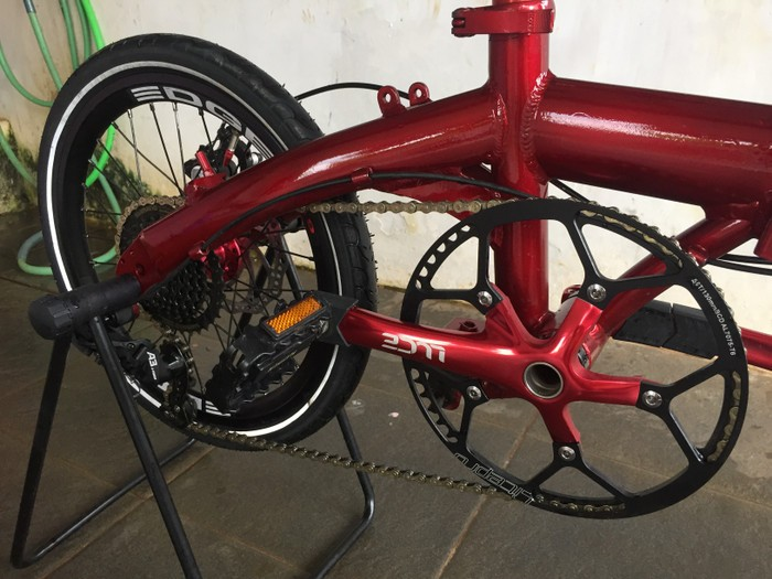 Jual Sepeda Lipat Laux Fiorentina Alloy Not Element Troy Dahon Fnhon Tern Kota Bogor Cv Bike Shop Tokopedia