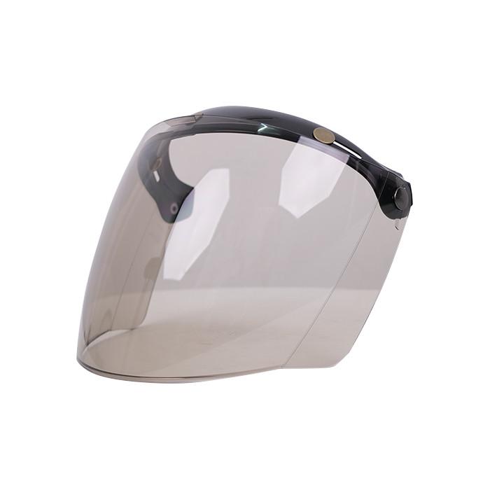 Foto Produk Visor Cafe Racer Howard Smith List Chrome - Light Smoke dari Helm Cargloss