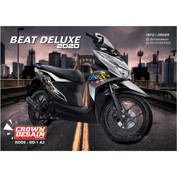 Jual Terbaru Sticker Striping Beat Deluxe 2020 Bd01 A2 Kota Surakarta Crown Desain Tokopedia