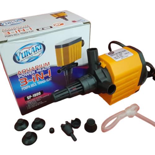 Jual Pompa Aquarium Yukari SP1800 - Pompa Celup Filter ...