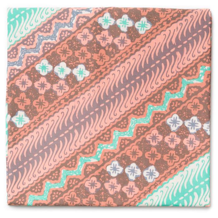Foto Produk Kain Batik Cap Trusmi Parang Seling Pastel - Tosca-Pink 2 dari Kainusa