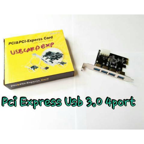 Foto Produk USB 3.0 CARD PCI EXPREES 4 PORT dari PojokITcom Pusat IT Comp