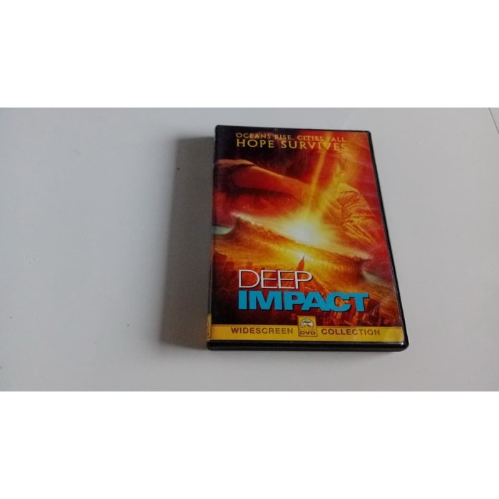 Jual Vdvd Original Film Import Deep Impact 1998 Kab Tegal Tiara Disc Collections Tokopedia