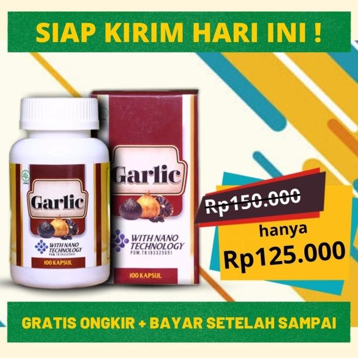 Foto Produk GARLIC KAPSUL - Ahlinya Obat Stroke, Asam Urat. Kualitas Grade A dari DHI Jakarta Barat