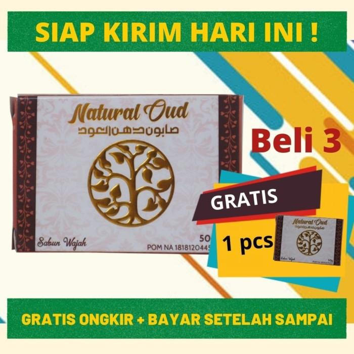 Foto Produk SABUN NATURAL OUD | Sabun Wajah Berminyak, Jerawat - BELI 3 GRATIS 1 dari DHI Jakarta Barat