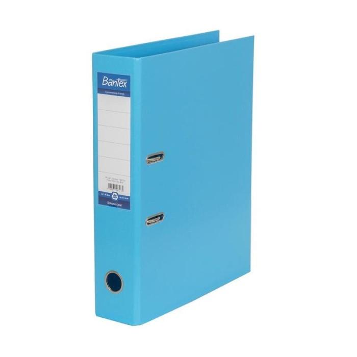 Foto Produk Ordner Folio PP Bantex 1465-23 (SKY BLUE) 7 cm New Pastel Colours dari officemart