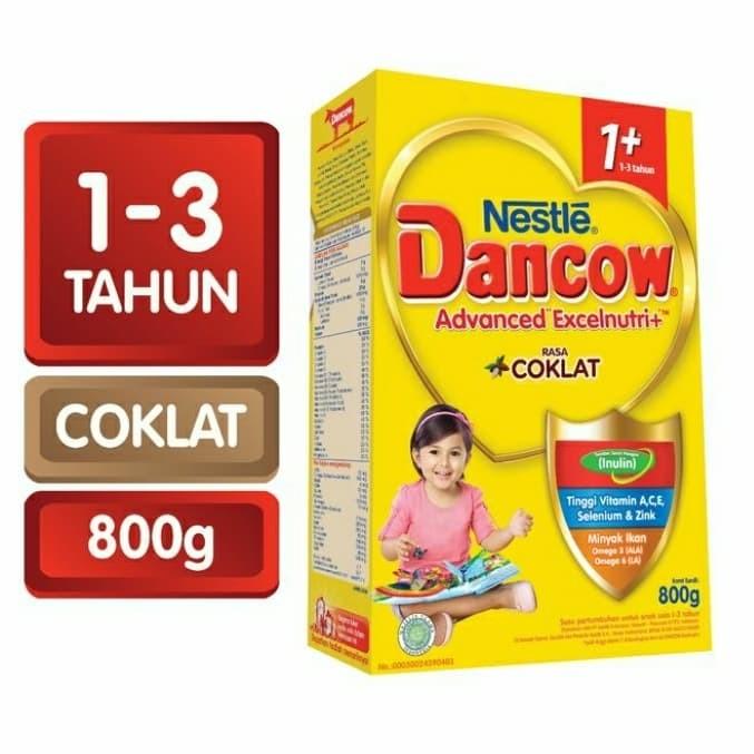 Foto Produk dancow 1+ coklat 800gr dari petshop zhafran