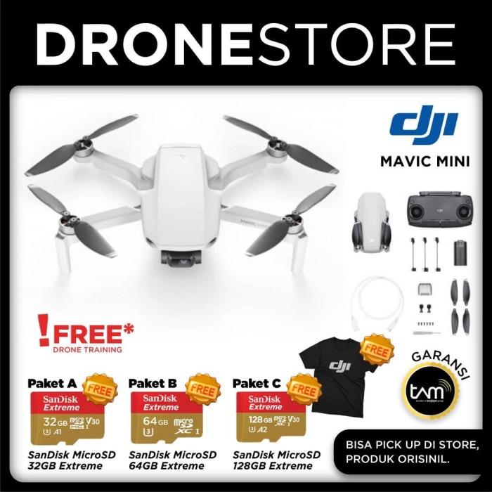 Jual DJI Mavic Mini - Drone Lipat Garansi Resmi Original ...