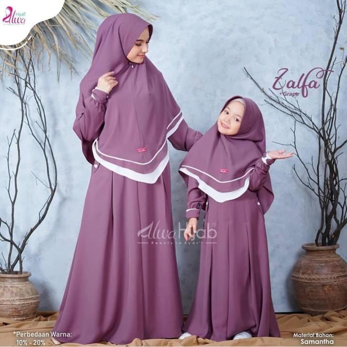 Jual Zalfa Couple Baju Couple Ibu Dan Anak Perempuan Muslim Hijab Dusty Kota Bandung Baju Hijab Muslim Tokopedia
