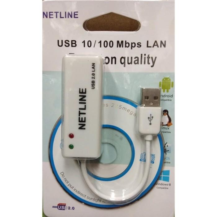 Foto Produk USB to LAN NETLINE dari Dewi Comp