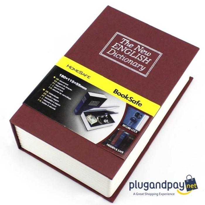 Foto Produk Security Dictionary L Size Buku Kamus Brankas Penyimpanan Rahasia dari plugandpay