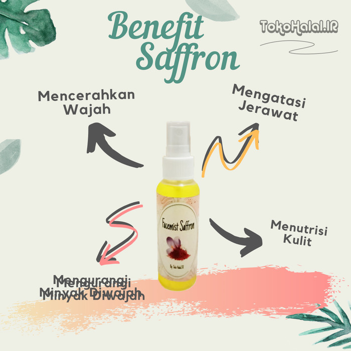 Jual Saffron Face Mist Super Negin 100 With Magic Water Air Zam Zam Jakarta Timur Tokohalalir Tokopedia