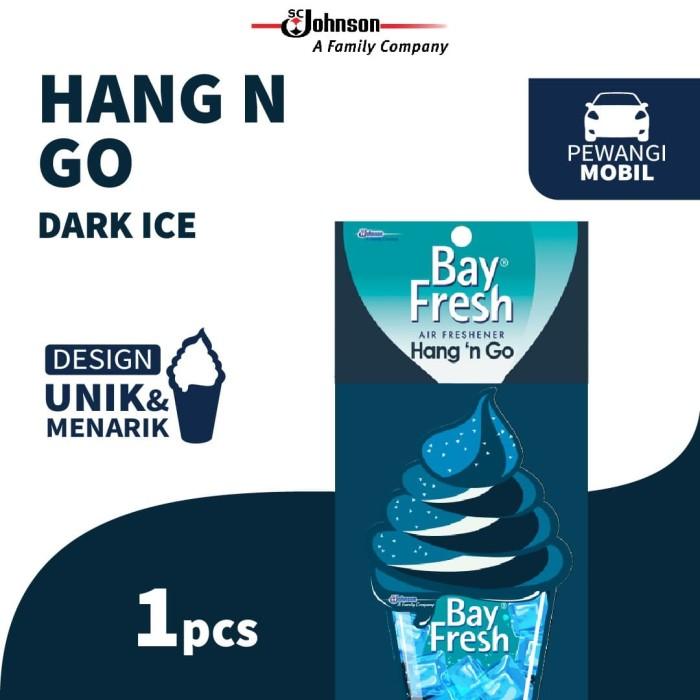 Foto Produk Bayfresh Hang n' Go Dark ice - Pengharum Mobil dari KIT Autocare