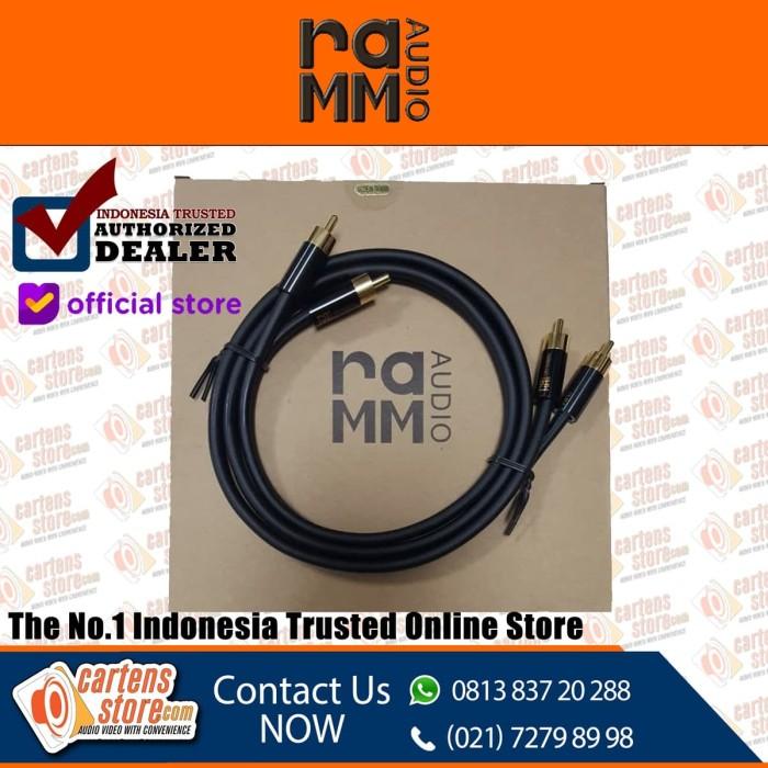 Foto Produk RAMM Audio S8 - 300G ( 1 Meter ) RCA Cable By Cartens-Store.com dari Cartens Store