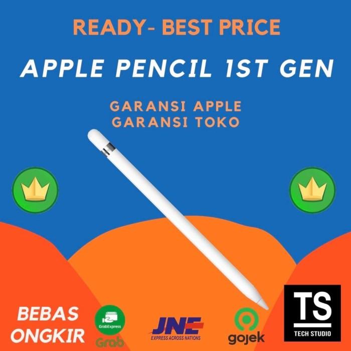 Foto Produk Apple Pencil Original Garansi Resmi Apple 1 Tahun iPad Pencil dari Tech Studio Indonesia