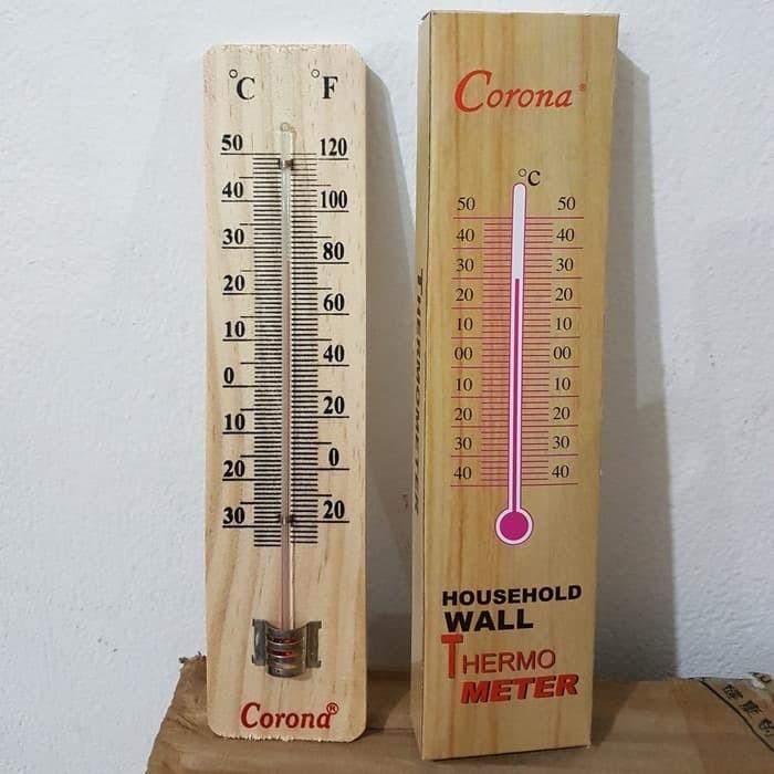 Foto Produk Thermometer Ruangan Kayu dari Vintaco